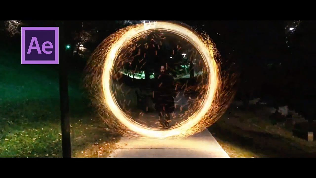 Doctor Strange Portal Effect After Effects Tutorial By Cihan Engin
