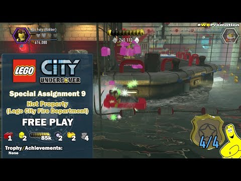 LEGO City Undercover Free Roam Around the City 12 from YouTube · Duration:  28 minutes 28 seconds