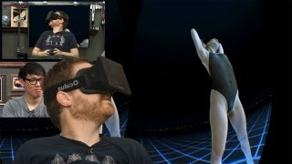 Tested In-Depth: New Game Demos On The Oculus Rift VR Goggles
