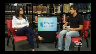 Interview at Pesquisa em Pauta about Andréia's research