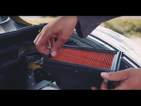 How to change your car air filter (sponsored)
