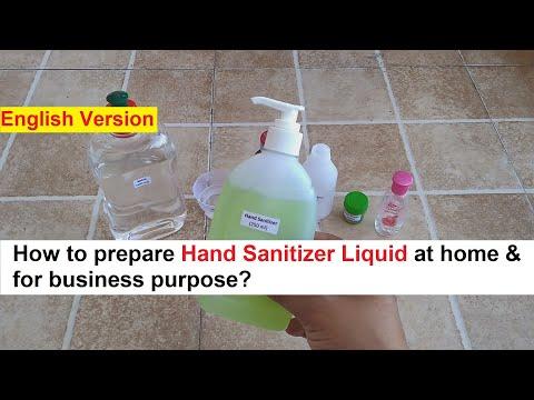 Govt. Approved Hand Sanitizer Making 100% Real Formula