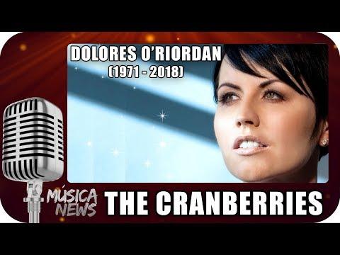MORRE DOLORES O'RIORDAN - THE CRANBERIES RIP - Marcio Guerra Canto MÚSICA NEWS -