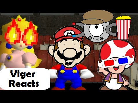 "Viger Reacts to SMG4's ""Retarded64: A Theatre Mario"