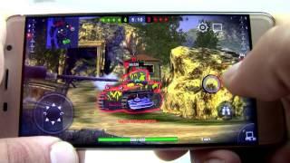leagoo M5 Edge Game test