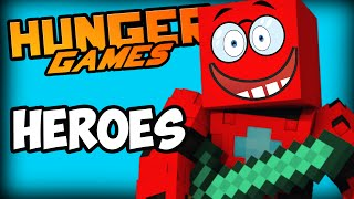 MINECRAFT HUNGER GAMES - HEROES - Crazy Final Battle!