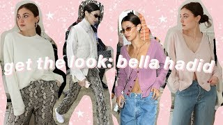 4 looks pour s'habiller comme Bella Hadid!