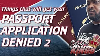 Passport Application Denied? here's why | Recorded Live
