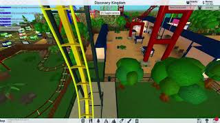 Roblox Theme Park Tycoon 2 Six Flags Discovery Kingdom Showcase part 1