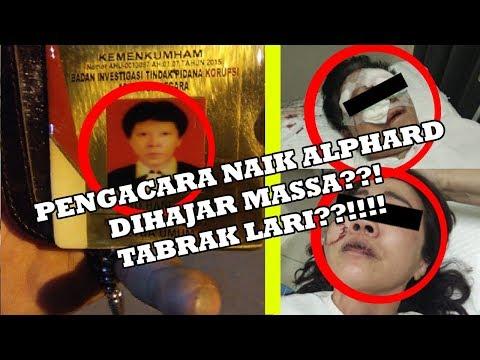 BREAKING NEWS : PENGACARA TABRAK LARI DI SURABAYA TERTANGKAP DI SIDOARJO, MOBIL ALPHARD DIRUSAK?!!!!