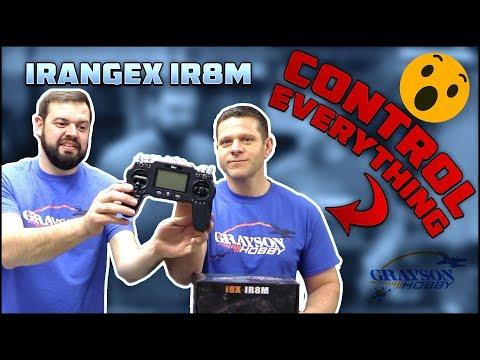 iRangeX IRX-IR8M Transmitter UnBoxing & Review - Control EVERYTHING