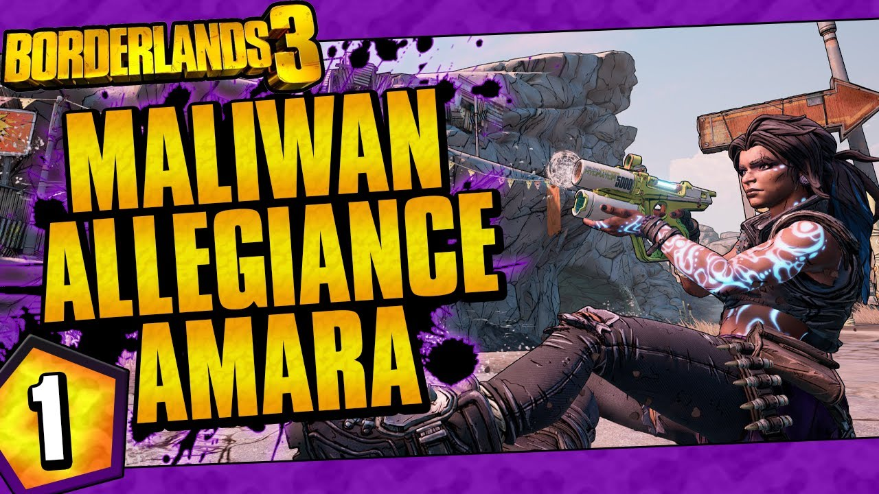 Borderlands 3 | Maliwan Allegiance Amara Funny Moments And Drops | Day #1 thumbnail