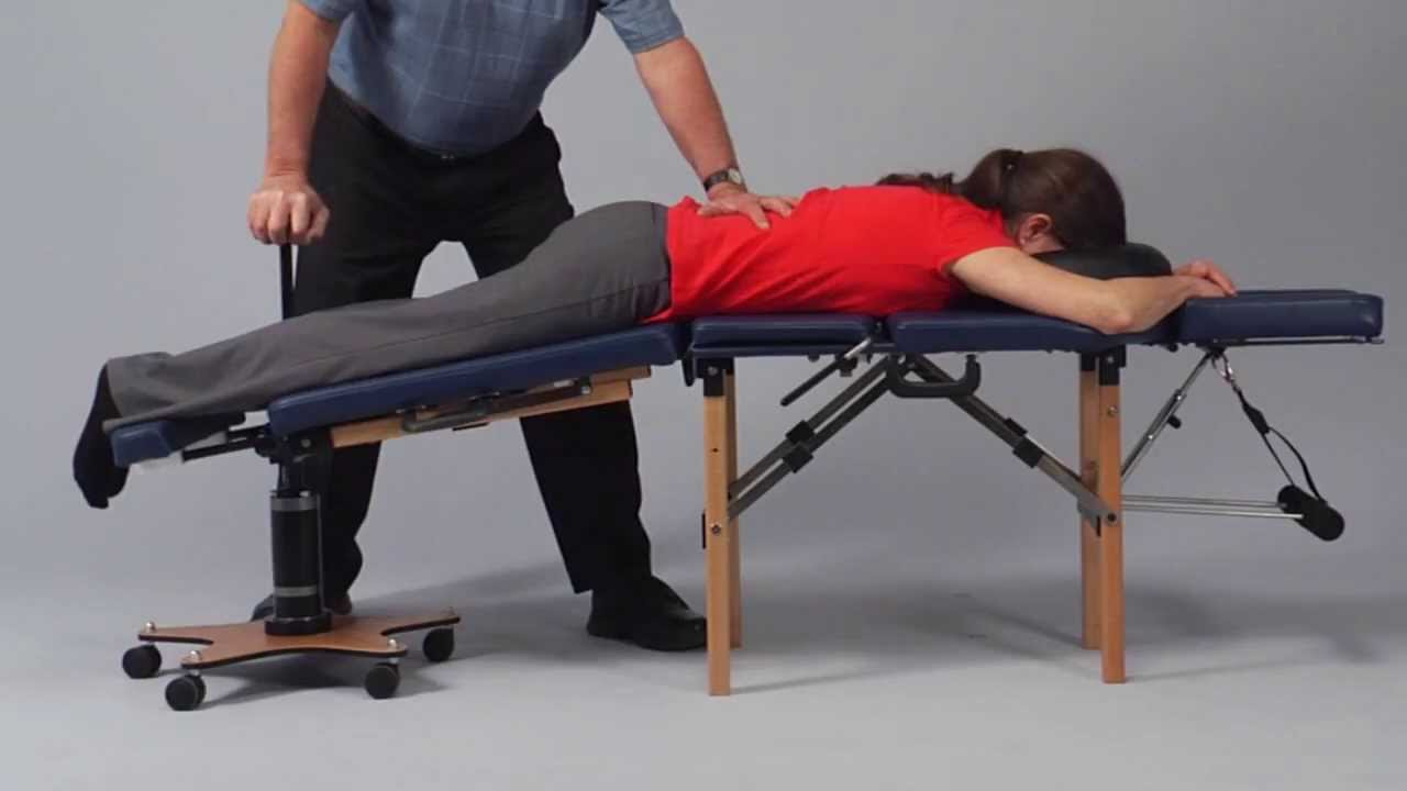 Flexion Distraction Option For Portable Tables Thuli