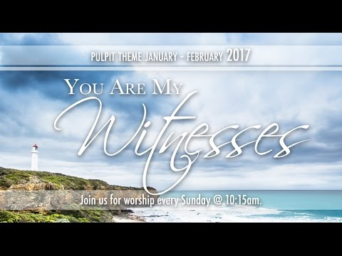 Bethel Morning Worship 15th January 2017