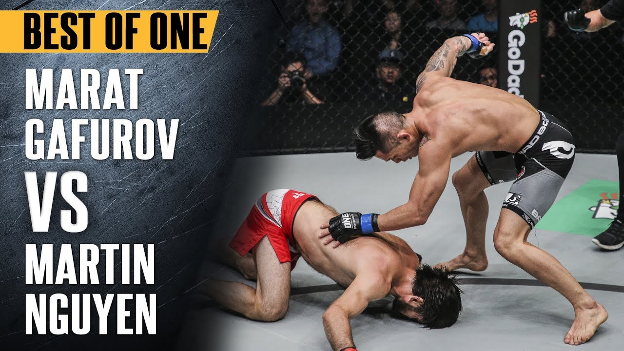 ONE: Best Fights | Marat Gafurov vs. Martin Nguyen | Nguyen Knocks Out Gafurov | Aug 2017