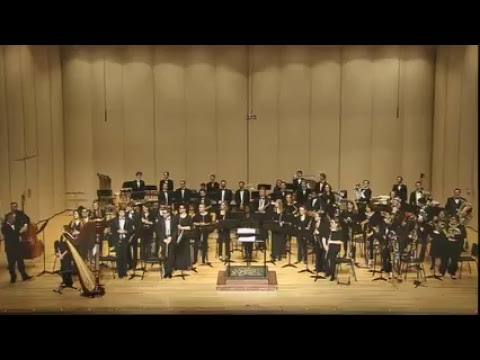Butler - School of Music Wind Ensemble Performance