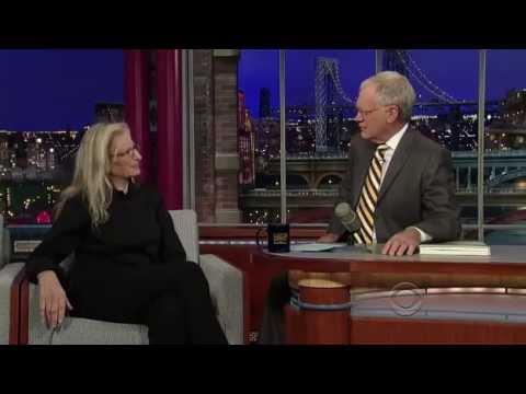 David Letterman intervista Annie Leibovitz - 8 nov