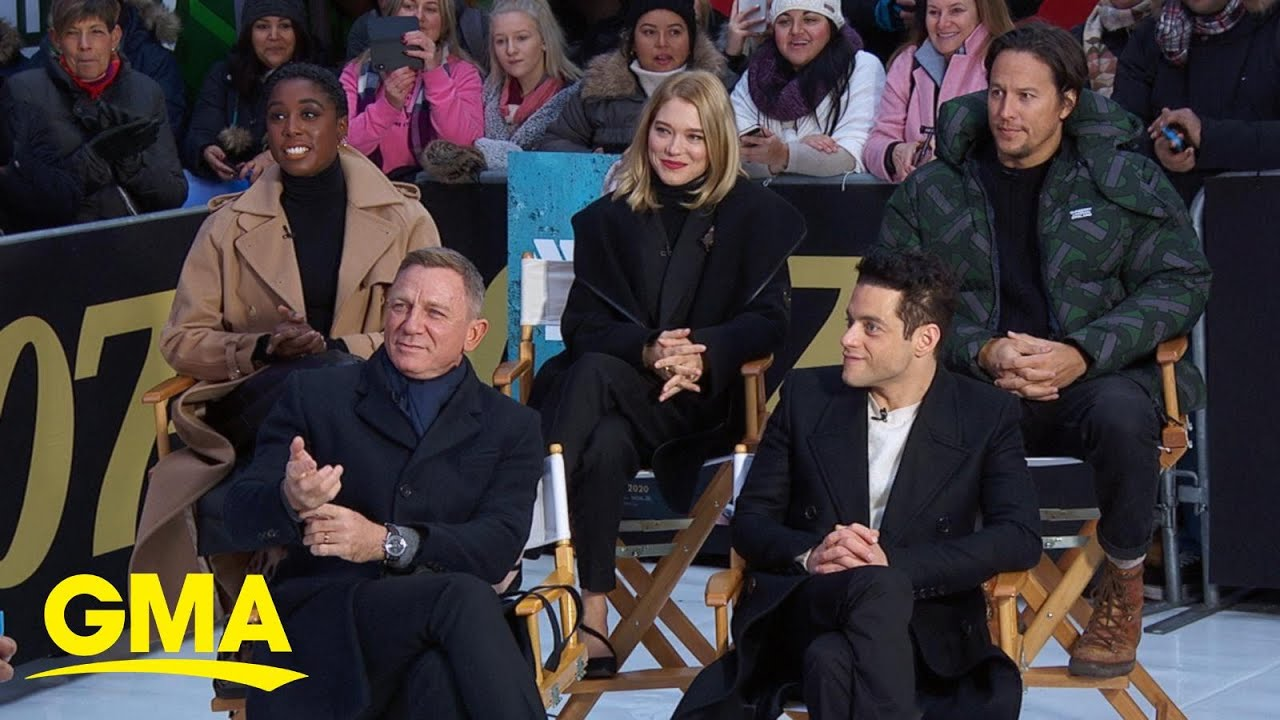 Stars of new James Bond film react to trailer l GMA