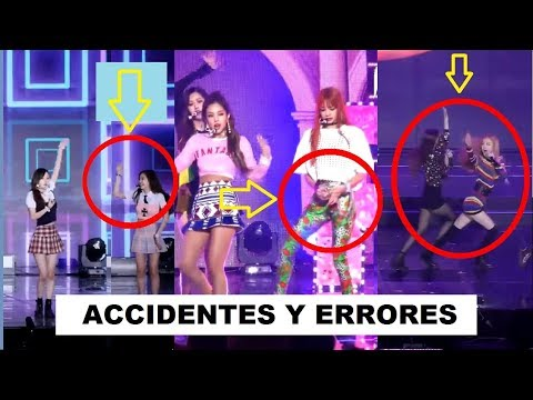 BLACKPINK'S ACCIDENTS & MISTAKES (part II)/ ACCIDENTES & ERRORES DE BLACKPINK (parte II)