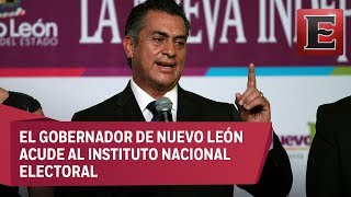 """Video Jaime Rodríguez, """"El Bronco"""", se registra como candidato independiente a la Presidencia download MP3, 3GP, MP4, WEBM, AVI, FLV November 2017"""