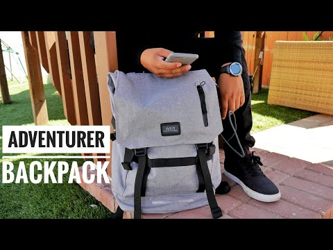 Adventurer Backpack Review | A Stylish Traveling Backpack