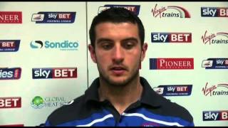 Gary Dicker with reaction to the Wimbledon game