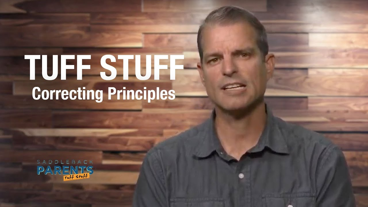 Correcting Principles | TUFF STUFF