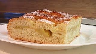 Пирог с яблоками видео рецепт. Книга о вкусной и здоровой пище.(Сайт проекта:http://www.videocooking.ru Приготовлено по рецепту из