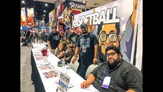 2017 COMIC-CON HIGHLIGHTS!! Dodgerfilms Softball Comic Book Release thumbnail