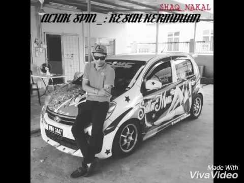 Achik spin - resah kerinduan with lyric