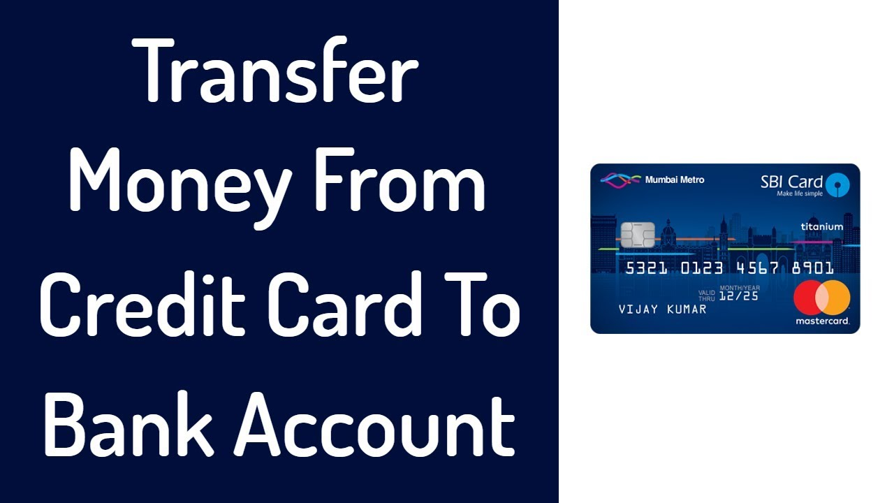 Transfer Money From Credit Card To Bank Account For Free 0 Charges