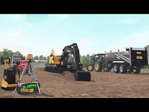 Farming Simulator 2017 TRAVAUX PUBLICS Petit chantier