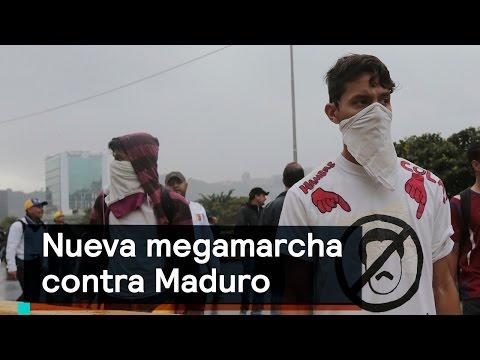 Venezuela: Nueva megamarcha contra Nicolás Maduro - Despierta con Loret