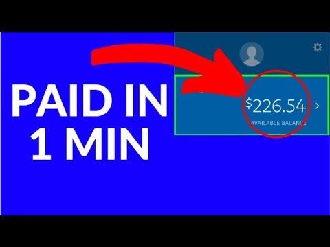 Earn FREE PayPal Money in 1 Min NOW! (2019)