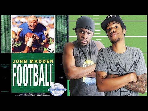 THE FIRST MADDEN EVER ON CONSOLE! - John Madden Football (1990) Gameplay | #ThrowbackThursday