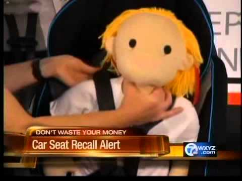 Car seat recall alert