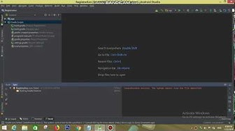 Android Studio Error CreateProcess error=2, The System Cannot Find The File Specified.
