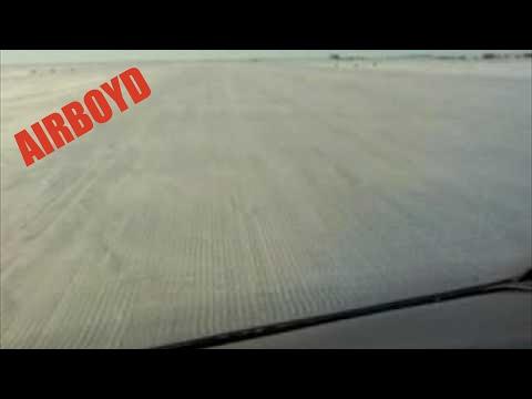 South Pole Landing Video at Pegasus Field Antarctica