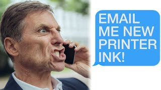 """r/Talesfromtechsupport """"Email Me Printer Ink!"""" """"That's... not how it works"""""""