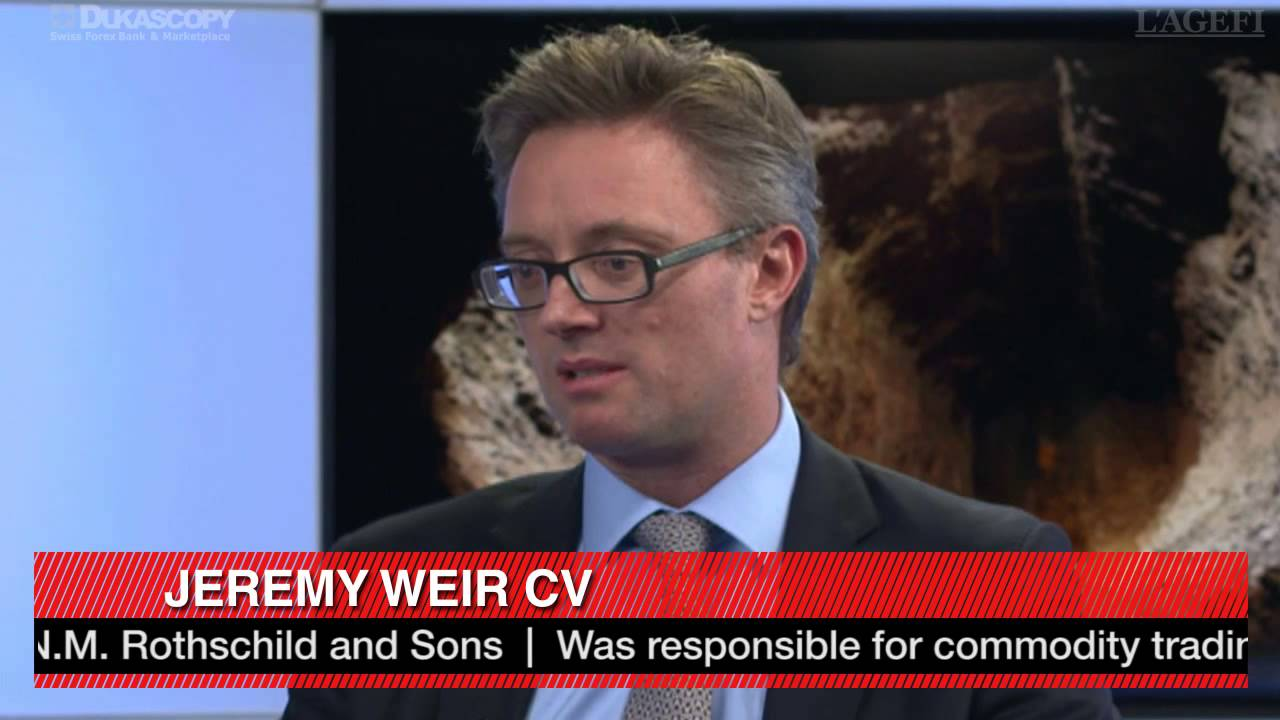 Jeremy Weir on commodities finance