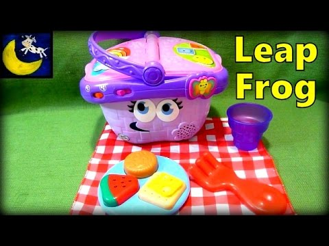 Leapfrog Shapes Sharing Picnic Basket Toy Awesome Pretend Toy