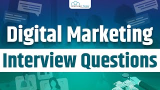 Top Questions to Crack Digital Marketing Interview  WsCube Tech