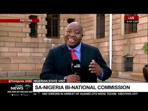 Nigeria State Visit | SA-Nigeria Bi-national Commission
