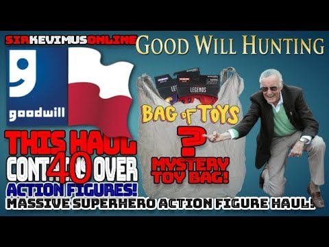 SirKevimus - GoodWill Huge TOY Haul!!! OMG!!!