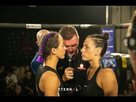 ETERNAL MMA 46 - CASEY ONEILL VS JADA KETLEY - WMMA AUSTRALIAN STRAWWEIGHT TITLE FIGHT