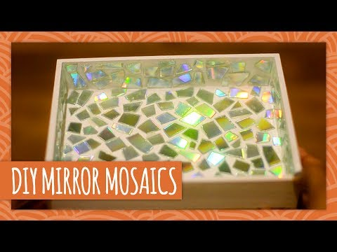 DIY Mirror Mosaics - HGTV Handmade - YouTube