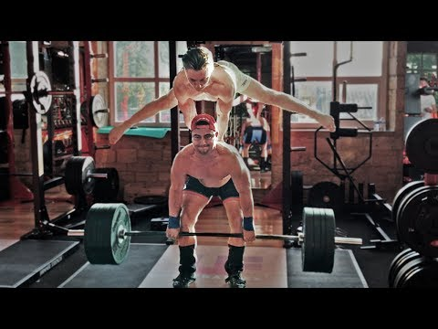 GYMNASTICS MEETS WEIGHTLIFTING | Sonny Webster