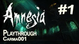 Amnesia: The Dark Descent - Partie 1 - Playthrough FR [HD]