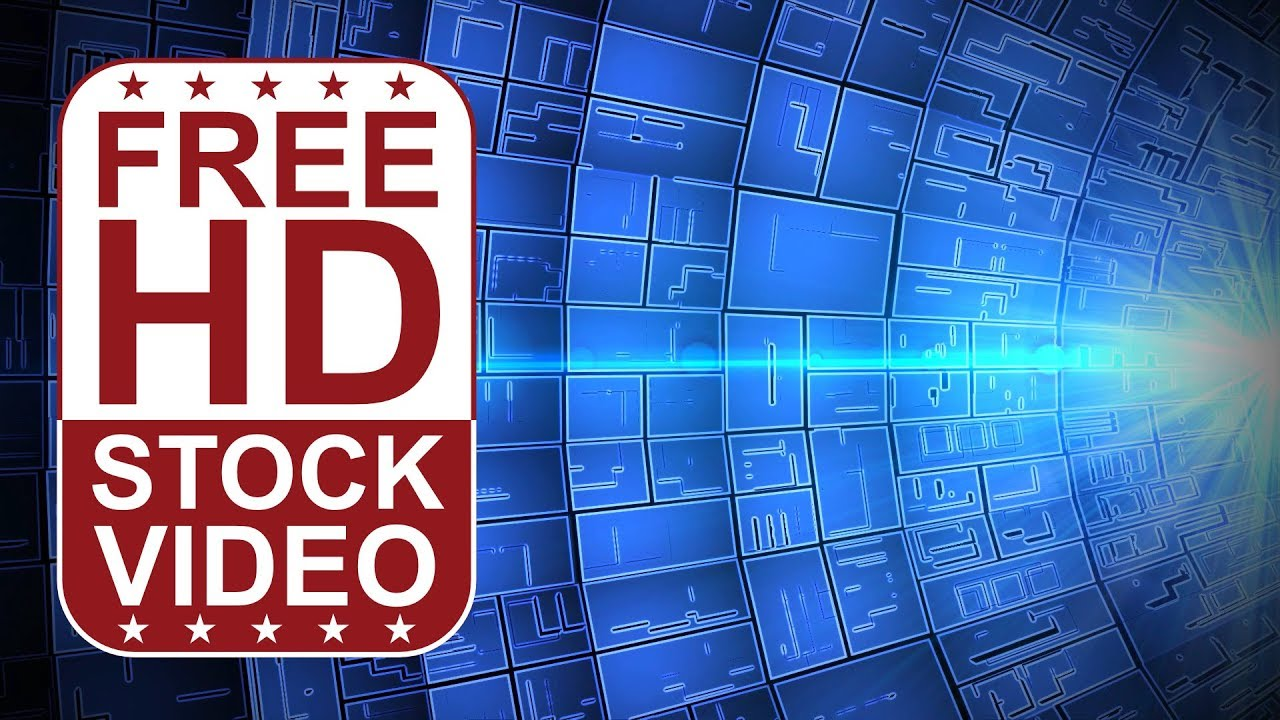 3d Digital Clock Wallpaper Free Hd Video Backgrounds Abstract Animated Hi Tech