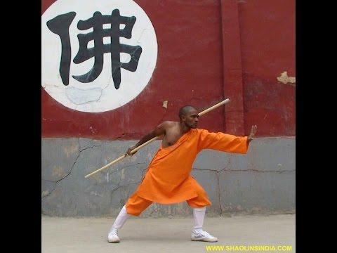 Kung-fu Weapons Training Monk India Shaolin Temple Wushu Warrior Shifu Prabhakar Reddy AP Tai chi